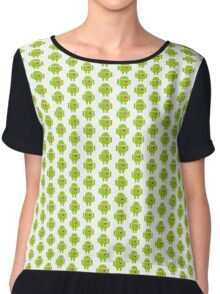 Android Robot Love Chiffon Top