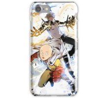 One Punch Man Saitama And Genos iPhone Case/Skin