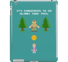 It's Dangerous To Go Alone! (Take Waffles) iPad Case/Skin