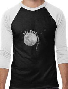 Band Merch - Hey Moon Panic Inspired  Men's Baseball ¾ T-Shirt