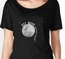 Band Merch - Hey Moon Panic Inspired  Women's Relaxed Fit T-Shirt