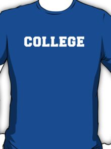 Animal House College T-Shirt T-Shirt