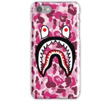 Pink Camouflage Shark iPhone Case/Skin