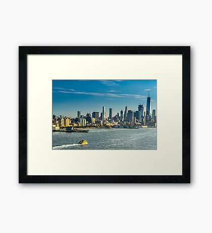 Welcome to New York City Framed Print