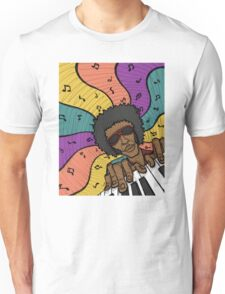 Piano Man Making Music Unisex T-Shirt