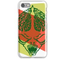 Alien Head Sketch iPhone Case/Skin