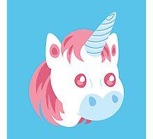 Cotton Candy Unicorn Photographic Print