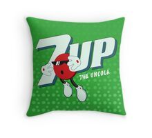 Cool Spot - The Uncola Throw Pillow