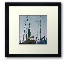 A Fishy Point of View Framed Print