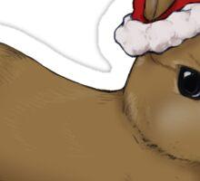 Santa Bunny Sticker