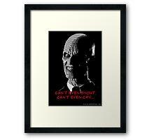 Gentleman (Hush) Framed Print