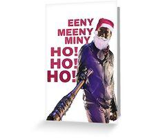 Negan Santa Claus  Greeting Card