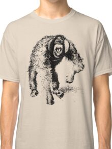 vector monkey Classic T-Shirt