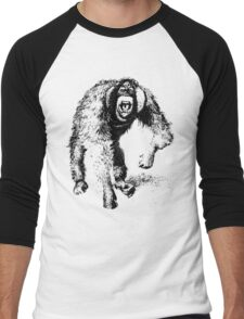 vector monkey Men's Baseball ¾ T-Shirt