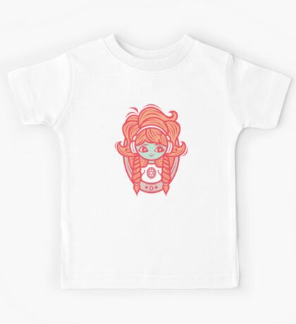 Cameo from outer space Kids Tee