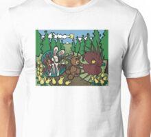 Teddy Bear And Bunny - The Venus Flytrap Unisex T-Shirt