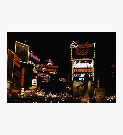 Times Square Broadway 1959 Photographic Print