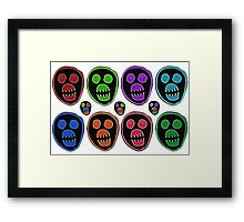 The Mighty Boosh Mask Framed Print