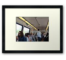 Metro Ride (USA) Framed Print