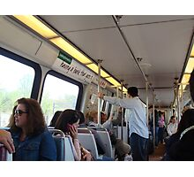 Metro Ride (USA) Photographic Print