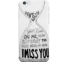 I Miss You - Blink 182 (2) iPhone Case/Skin