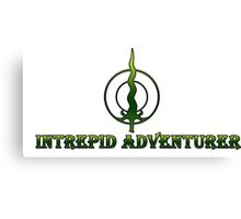 Intrepid Adventurer Canvas Print