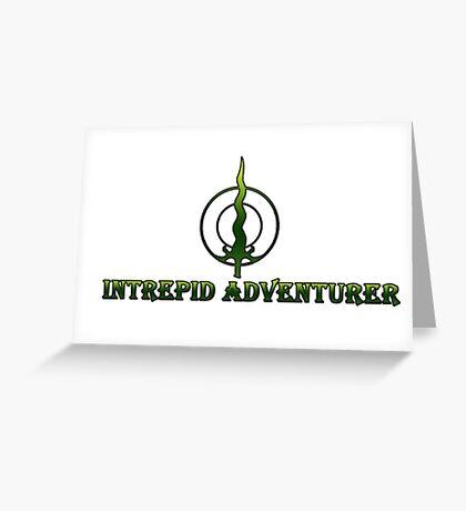 Intrepid Adventurer Greeting Card