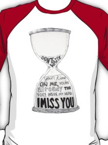 I Miss You - Blink 182 (2) T-Shirt