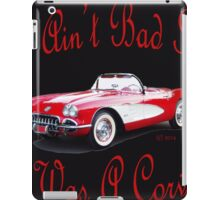 Birthday gifts for a 60 yr. old; Chevy iPad Case/Skin