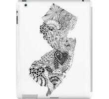 New Jersey Doodle iPad Case/Skin