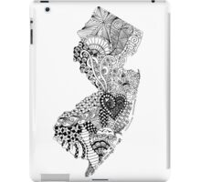 New Jersey Doodle iPad Case/Skin