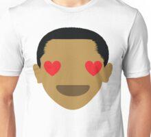 "Barack ""The Emoji"" Obama Heart and Love Eyes Unisex T-Shirt"