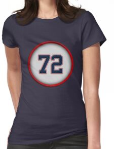 72 - Pudge (1980's) Womens Fitted T-Shirt