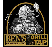 Bens Bar and Grill LOGO Photographic Print