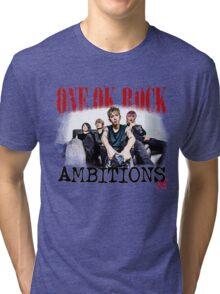One Ok Rock Ambitions Album!!! Tri-blend T-Shirt
