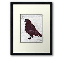 The Dark Bird Framed Print