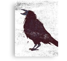 The Dark Bird Canvas Print