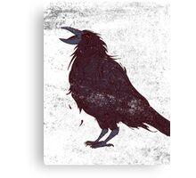 The Dark Bird Canvas Print
