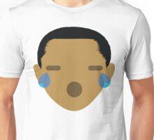 """Barack """"The Emoji"""" Obama Teary Eyes and Sad Face Unisex T-Shirt"""