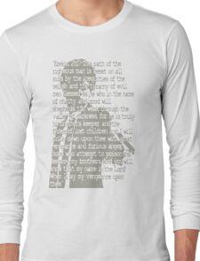 EZEKIEL 25 . 17 Long Sleeve T-Shirt