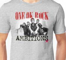 One Ok Rock Ambitions Album!!! BW Unisex T-Shirt