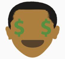 "Barack ""The Emoji"" Obama Money Face Kids Tee"