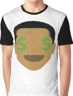 "Barack ""The Emoji"" Obama Money Face Graphic T-Shirt"