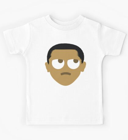 "Barack ""The Emoji"" Obama Thinking Hard and Hmm Face Kids Tee"