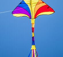 Kite high in the sky by broomhillphoto