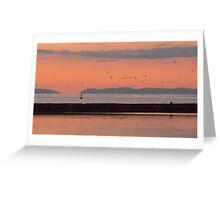Orange skt at Maidewns, Ayrshire, Scotland Greeting Card