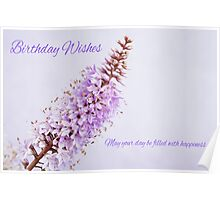 Hebe - Birthday Card Poster