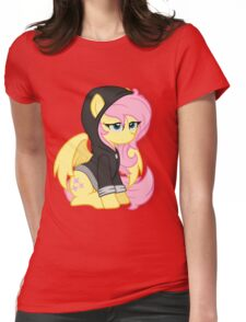 Fluttershy - hoodie Womens Fitted T-Shirt
