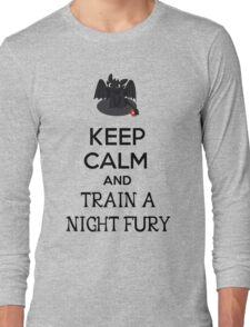 Keep Calm and Train a Night Fury Long Sleeve T-Shirt