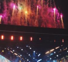 WWA Fireworks Sticker